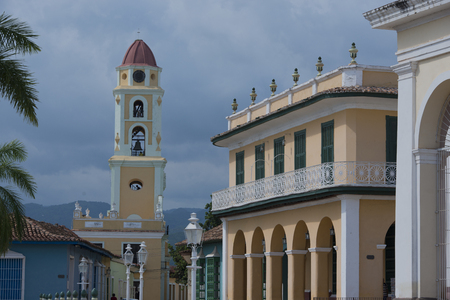 streetlife: Old buildings in Trinidad Cuba Editorial