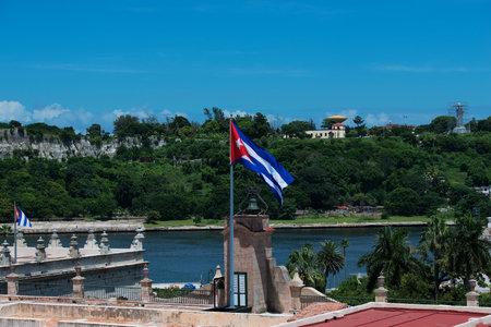 havana cuba: Old buildings in Havana Cuba