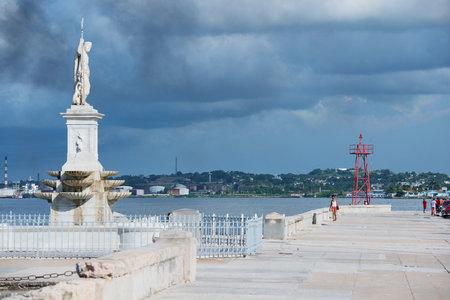 havana cuba: Malecón in Havana Cuba