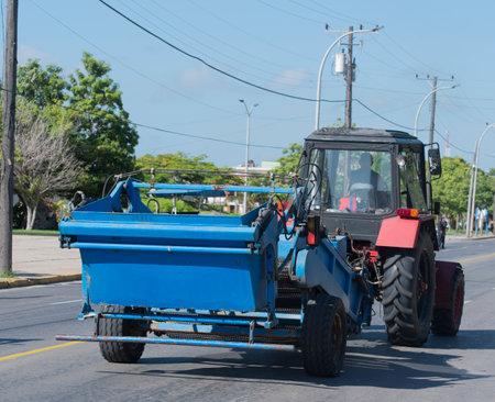 varadero: Trucktor in Varadero Cuba