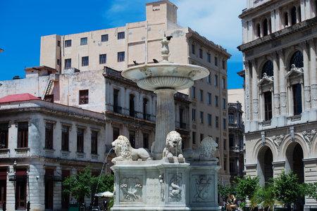 streetlife: Old buildings in Havana Cuba