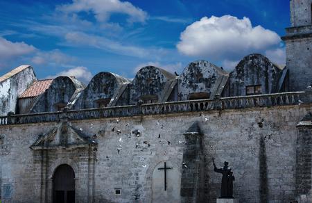 convento: Convento de San Francisco de Asis in Havana, Cuba Stock Photo