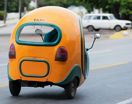 varadero: Taxi Coco Mobil in Varadero Cuba