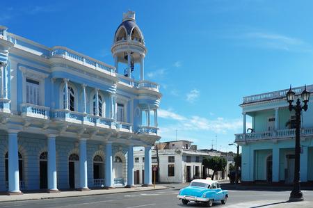 streetlife: Cienfuegos, Cuba - Buildings and streets lanes