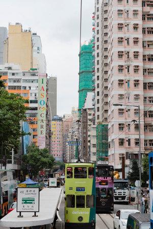 The center of the metropolis of Hong Kong Editorial