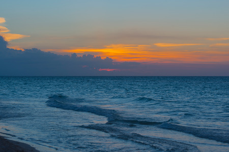 varadero: Sundown on the beach of Varadero Cuba