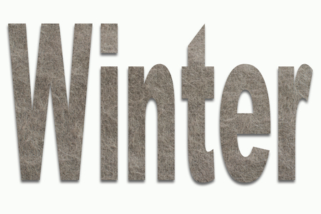 luxuriously: Winter Angora Wool in a font trained
