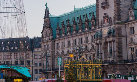 christmas market: Christmas Market in Hamburg