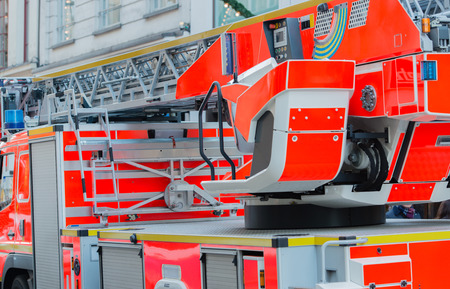 Fire engines for firefighting