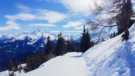 ski walking: Ski resort Mayrhofen Tyrol