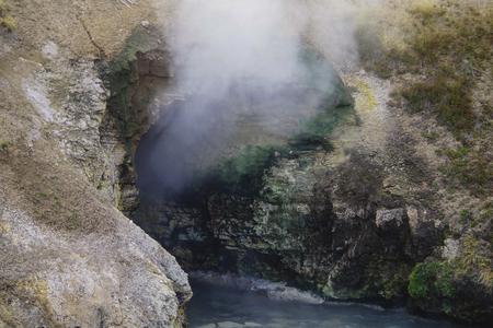 竜の口温泉 - 泥火山地域 - イエローストーン国立