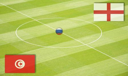 交尾イングランド戦チュニジアのサッカー場