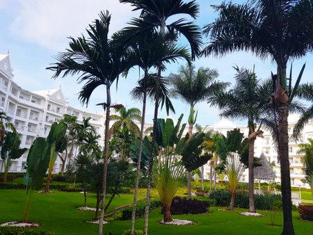 Ocho Rios, Jamaica - June 02, 2018: Hotel complex Ocho Rios in Jamaica