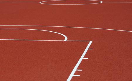 Runway mark on an athletics track Фото со стока - 103473359
