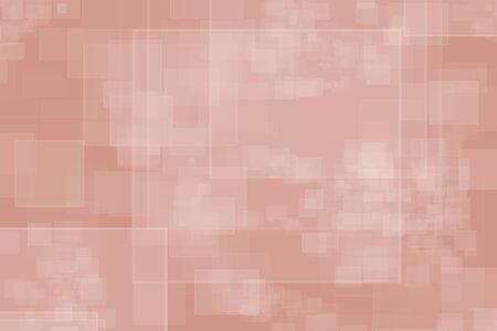 Portrait background in square design with the trend color coral pink Stok Fotoğraf