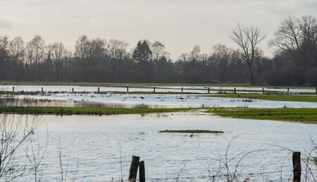 Meadows are under water from the constant rain