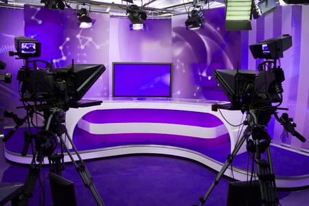 TV show recording studio