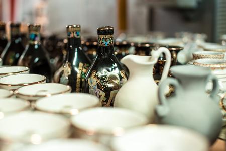 Traditional Greek ceramics Standard-Bild - 106362216