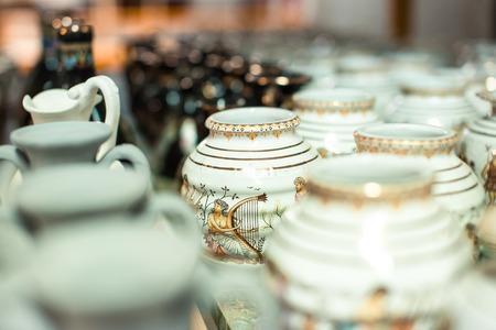 Traditional Greek ceramics Standard-Bild - 106362219