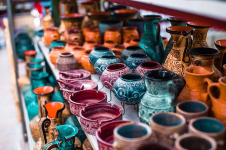 Traditional Greek ceramics Standard-Bild - 106362248