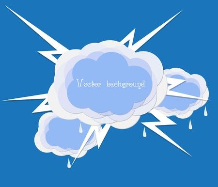 cloud lighting vector Stock Vector - 11041208