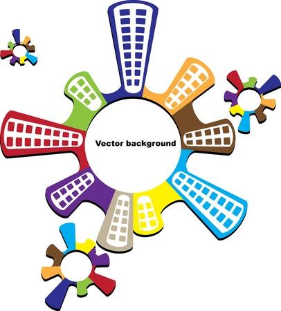 real estate concept Stock Vector - 11041209