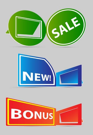 Label vector for sale Vector