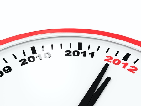 Clock new year Stock Photo - 11618269