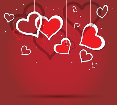 valentine heart: Heart valentine