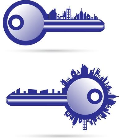 key chain: Keys real estate