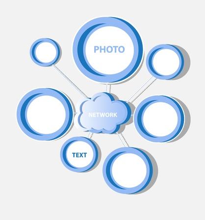 Cloud social network Stock Vector - 11882468