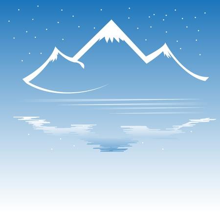 Mountain vector-formaat