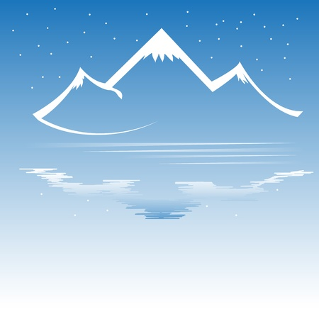 Mountain vector format Stock Vector - 11882473