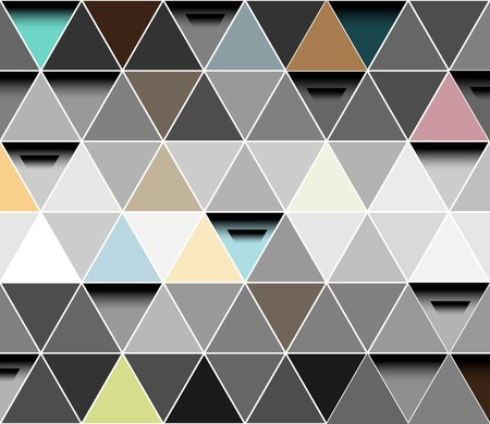 Triangle abstract vector background Vector