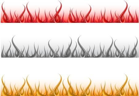 Fire vector format Stock Vector - 11962147
