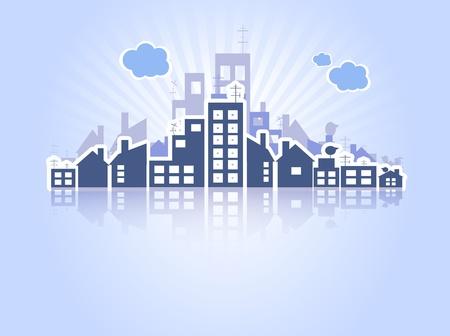 logements: Biens immobiliers Illustration