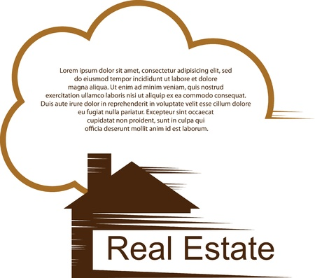 real estate agent: Home logo for your company