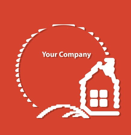 house insurance: Home logo for your company