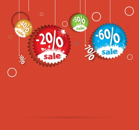 sale percent background vector format Vector
