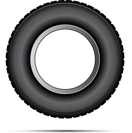 neumaticos: vector de neumáticos de coches