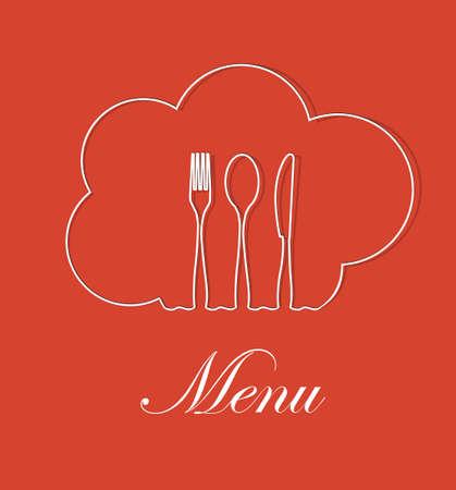 Restaurant menu design vector format Stock Vector - 12463802