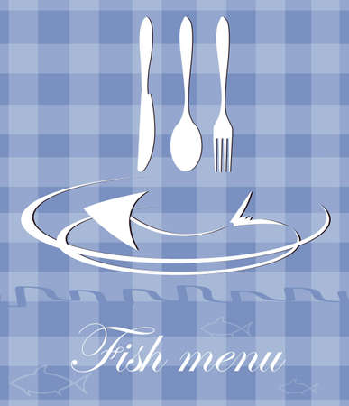 fish menu for restaurant Stock Vector - 12463858
