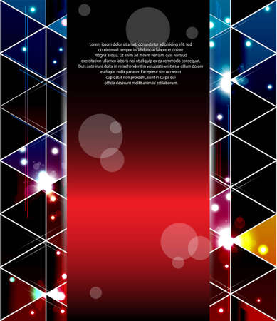 Triangle abstract background Vector