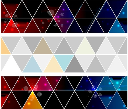 triangle objects: Triangle abstract background Illustration