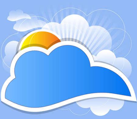 view from the plane: nube de vectores de fondo Vectores