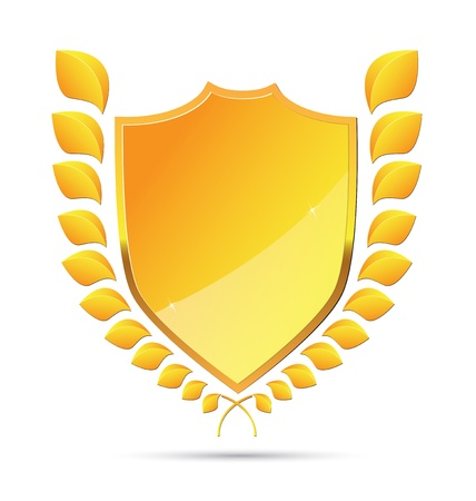laurel leaf: Corona de laurel formato vectorial Vectores