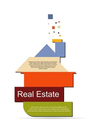 apartment market: Resumen de vectores de bienes ra�ces Vectores