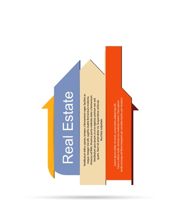 building security: Abstract real estate vector