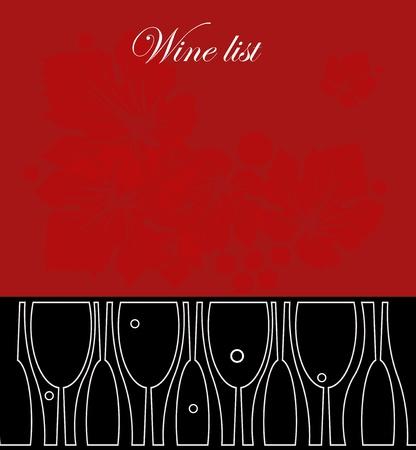 vino de diseño de la lista
