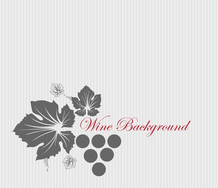 wine card background Stock Vector - 13022933